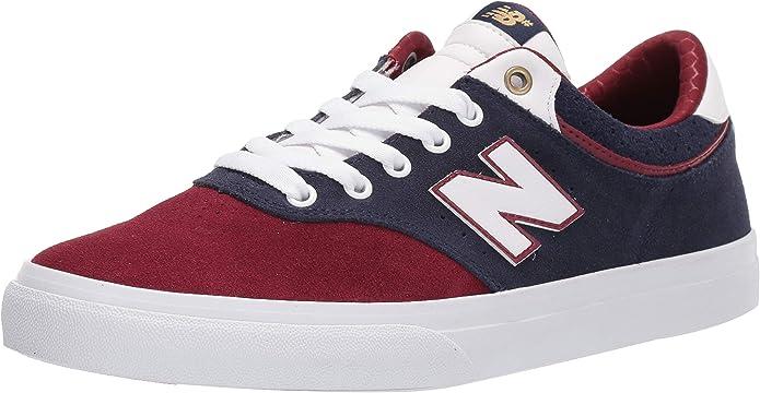 New Balance Numeric 255 Sneakers Skateschuhe Blau/Weinrot/Weiß