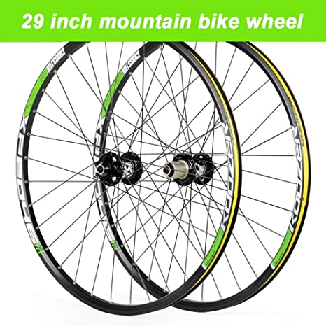 TianyiTrade 29er Rueda de Bicicleta MTB Pared Doble Aluminio ...