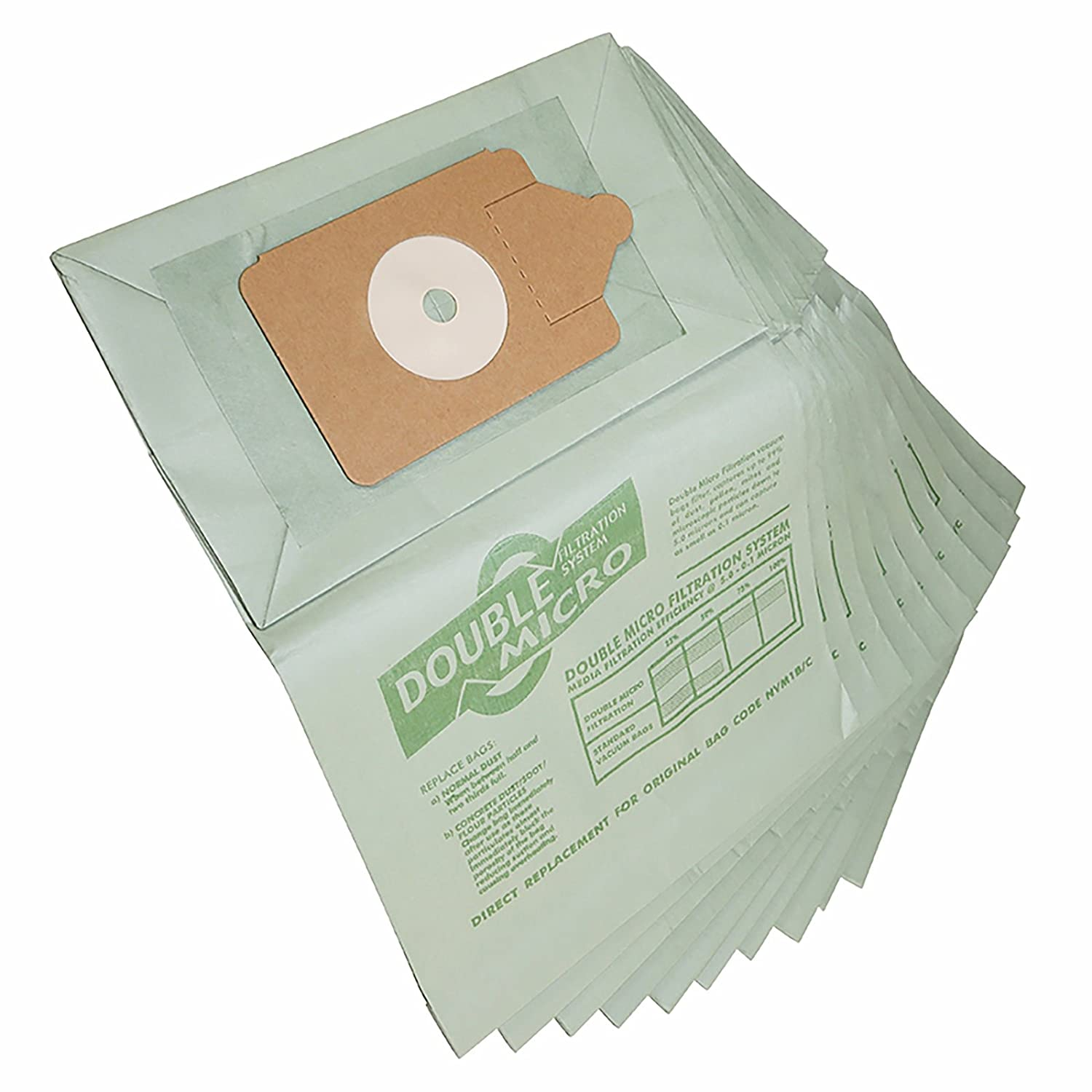 Qualtex Compatible Numatic Henry Hoover Vacuum Cleaner Bags 10Pk New Double Micro Filtration Quality Guaranteed Exclusive To L M Electrical