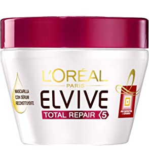 LOréal Paris Elvive Mascarilla Reconstituyente Total Repair 5 - 300 ml