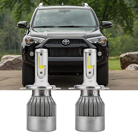 Amazon com: H4 LED Headlight Bulb for Toyota 4Runner Tacoma
