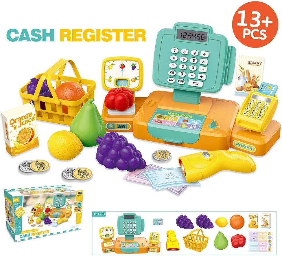 Caja registradora de juguete para niños, juguete educativo para ...