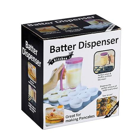 Compra Newcomdigi Pancake Batter Dispensador alta calidad Kitchen Gadgets Housewife de hornear y de chef Buddy - Perfecta Para Hornear Herramientas de ...