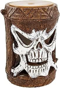 Friki Tiki Flashing Skull Outdoor Accent Light