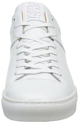 Jim Rickey , Sneaker Uomo, Bianco (Bianco (JRF16071A)), 45