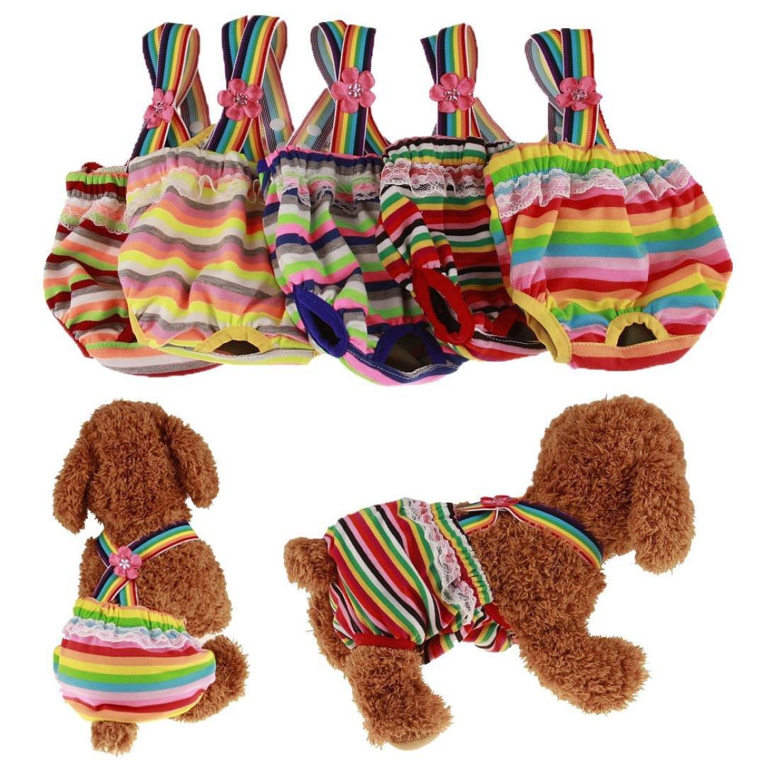 Binmer(TM) Dog Pants Knickers Nappy Puppy Pet Heat Menstruation Diaper Sanitary Pant