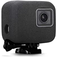 Taisioner Se adapta a GoPro Hero 5 6 7 parabrisas Reducción de ruido, Reduce el ruido del viento Mejora el efecto de grabación Material de esponja Accesorios necesarios para la fotografía al aire libre