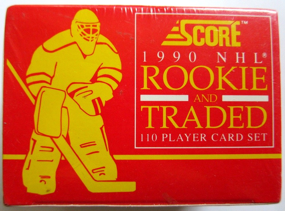 1990 SCORE NHL Rookie and Traded Set