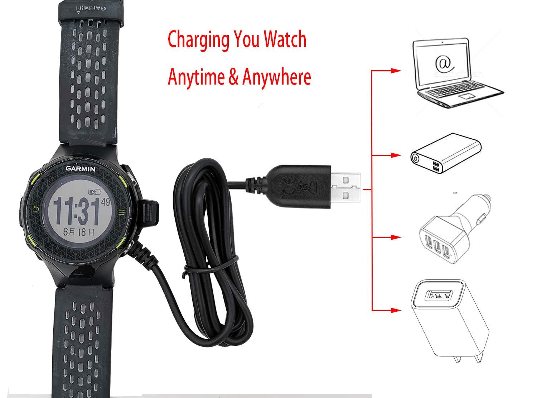 Amazon.com: VFAN - Cable cargador para reloj de golf Garmin ...