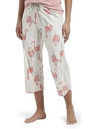 537d253ec28 HUE Women s Printed Knit Capri Pajama Sleep Pant