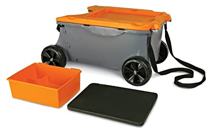 Genial Fiskars 6220 Sit And Store Garden Caddy With Built In Seat