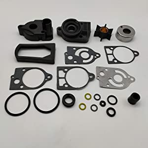 JSProxam Products- Replacement For Mercury and Mariner Water Pump Kit 46-77177A3 40 50 60 70HP 2 Stroke 1977-1997