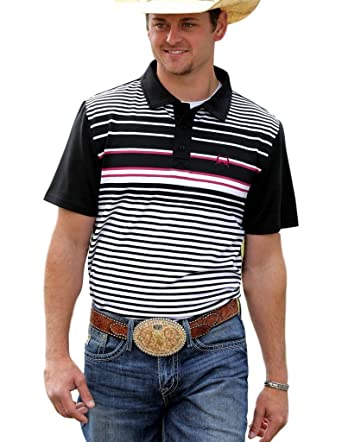 9595480a Cinch Men's Athletic Tech Polo Multi 1 Shirt at Amazon Men's Clothing store: