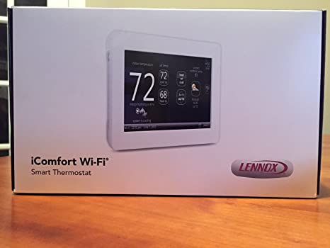 Lennox iComfort Wi-Fi Touchscreen Thermostat on