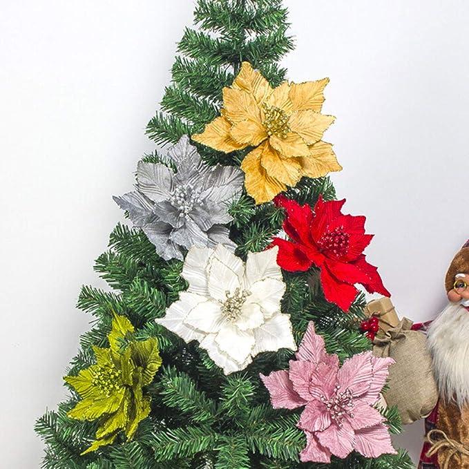 EG/_ 20CM Artificial Christmas Tree Decoration Family Home Xmas Party Supplie Exq