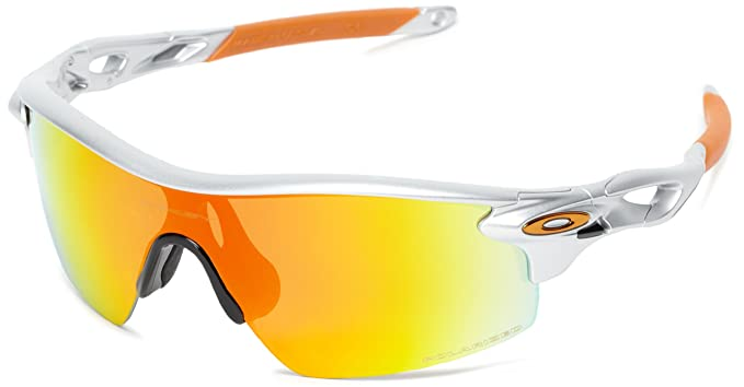 b3936e87123 Oakley mens Radarlock Path OO9182-12 Polarized Sport Sunglasses ...