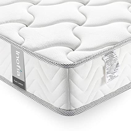 Amazon Com Inofia Twin Mattress 8 Inch Single Mattress In A Box