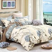 Luxor Linen Dandelion Quilt Cover Set (QC-Dandelion-K)
