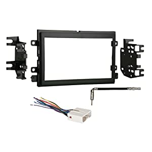 Metra 95-5812 2-DIN Dash Kit + Harness + Antenna Adapter for Select Ford/Mercury