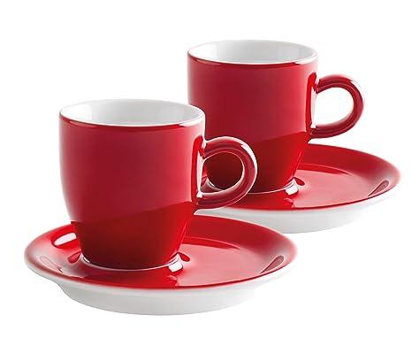Kahla 21D248A60017C Café Sommelier - Juego de tazas para café expreso doble (4 piezas)