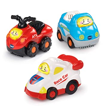 Amazon Com Vtech Go Go Smart Wheels Sports Cars 3 Pack Toys Games
