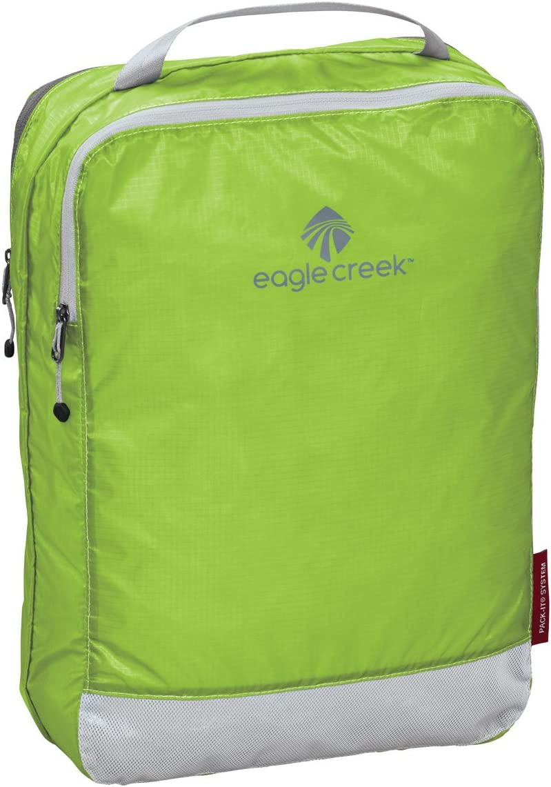 Eagle Creek Pack-It Specter Clean/Dirty Split Cube Packing Organizer, Strobe Green (M)