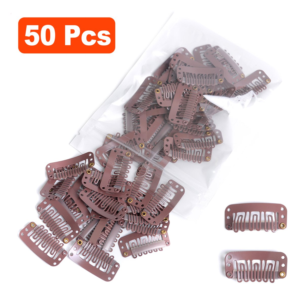 Amazon Snap Clips For Hair Extensions Weaves 50pcs U Shape