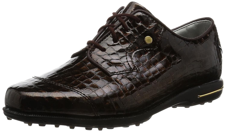FootJoy Women's Tailored Collection Golf Shoes B01KP04KO6 6.5 B(M) US|Bronze Print