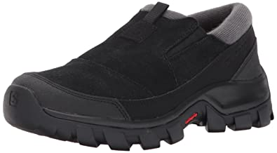 Womens Snowclog W Snow Sneaker, Black/Black/Magnet, 5 M US Salomon