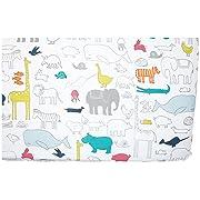 Pehr Crib Sheet, Noah's Ark