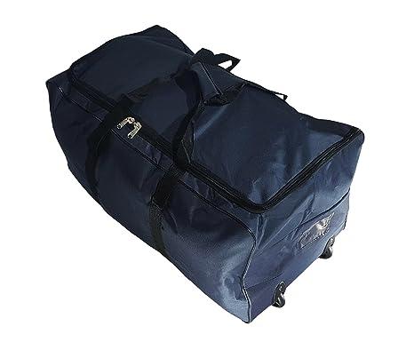 Bolsa de viaje deportes maleta trolley grande 140L con ruedas. Talla XXL