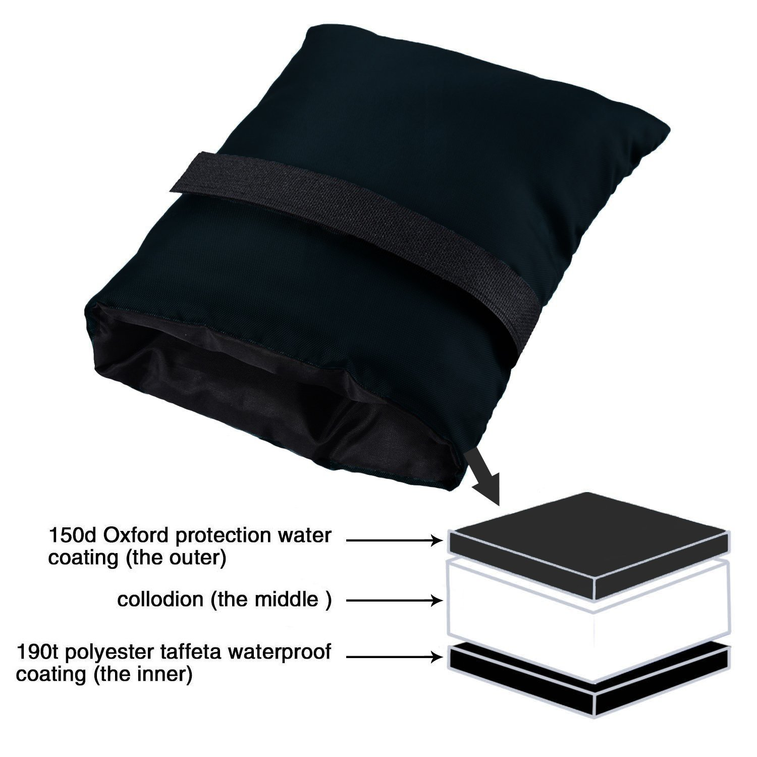 Outside Tap Cover//Spigot Cover//Faucet Protector//Faucet Socks for Freeze Protection Outdoor Faucet Covers for Winter Black - 2 Pack Giveme5 2 Pack Faucet Cover