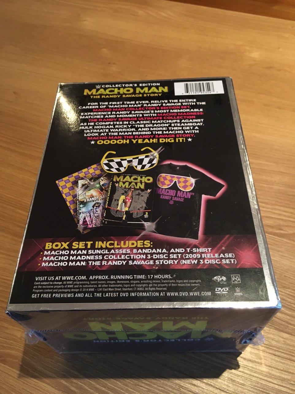cabaa9097e9 Macho Man  The Randy Savage Story Collector s Edition by Randy Macho Man  Savage  Amazon.co.uk  DVD   Blu-ray