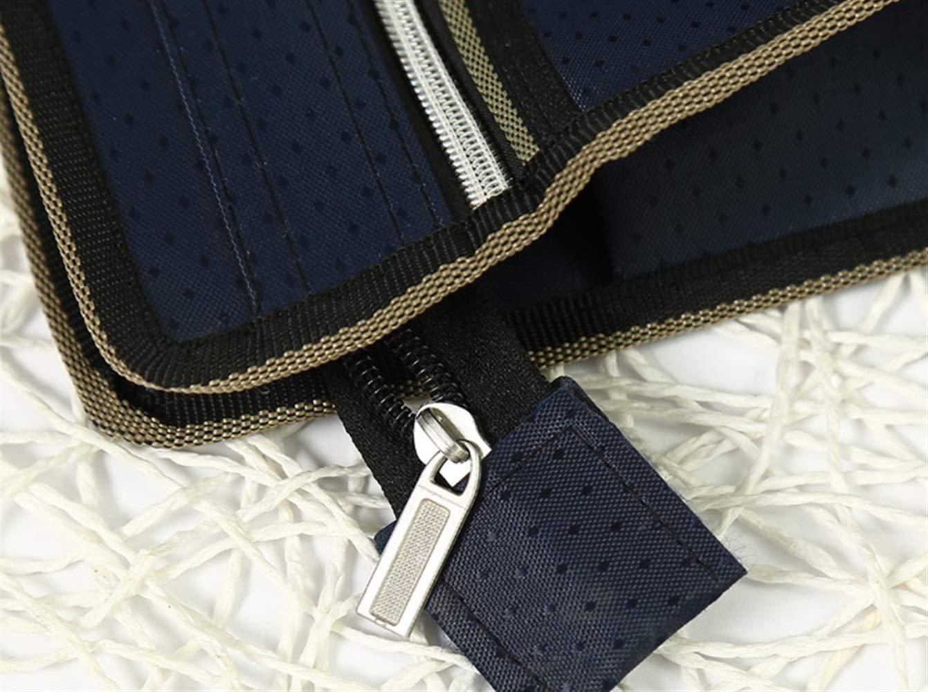Useful 10 Stücke Einfachen Stil Single-Layerot Single-Layerot Single-Layerot A4 Zip Tasche Dokument Brieftaschen (Deep Blau) Ari_Mao B07LFSTNXR | Spielzeug mit kindlichen Herzen herstellen  377743