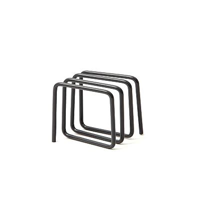 Block - Soporte para cartas, color negro: Amazon.es: Hogar