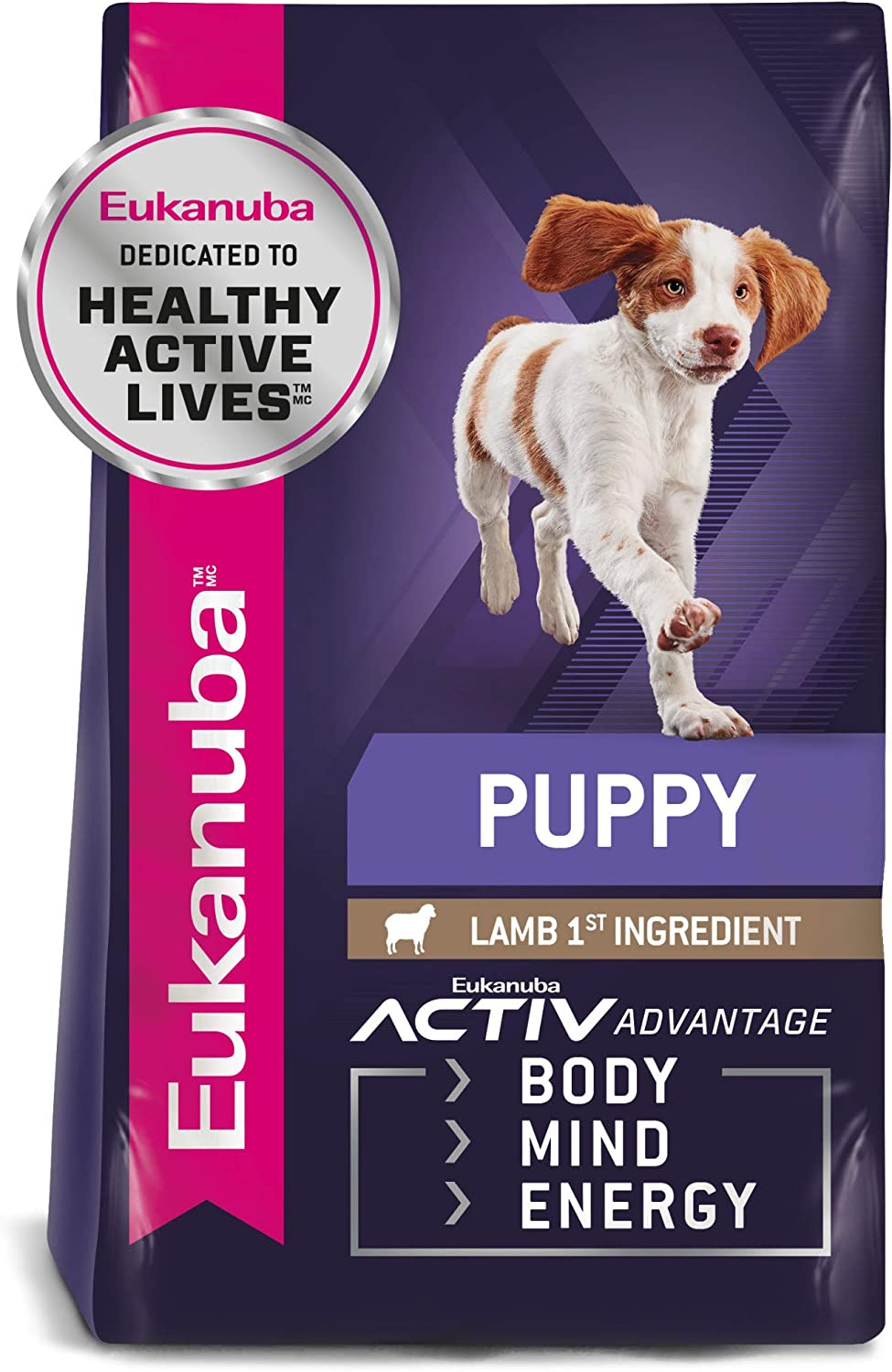 Eukanuba Puppy Dry Dog Food Lamb & Rice
