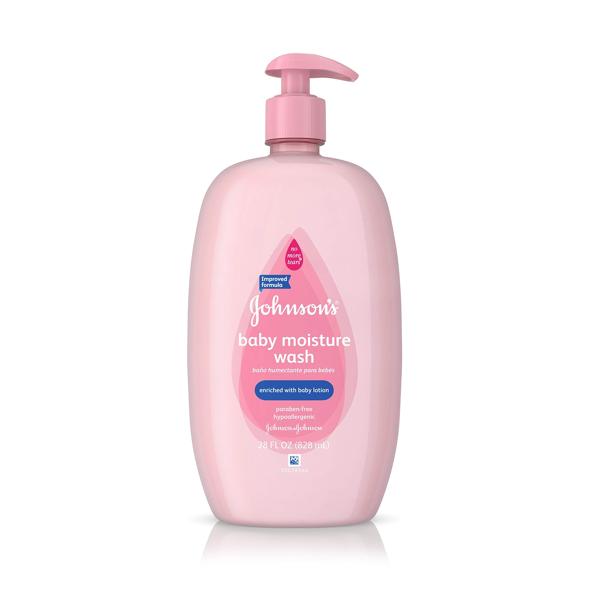 Johnson's Baby Moisture Care Wash To Soften Skin, 28 Oz. by Johnson's Baby