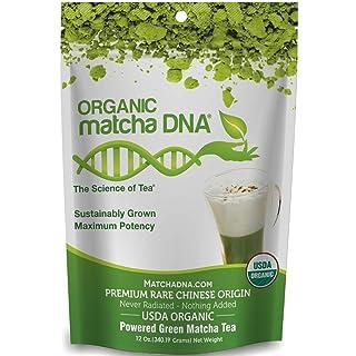 MatchaDNA Certified Organic Matcha Green Tea Pure USDA Certified Organic Culinary Grade Matcha (12 Ounce)