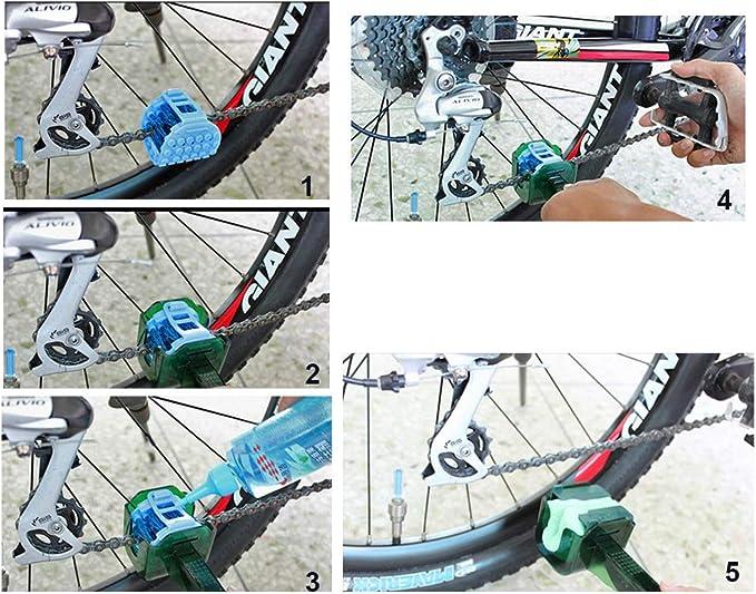 Limpiador de cadena de bicicleta MTB kit de herramientas ...
