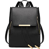 sfpong Borsa a zainetto donna nero Black large