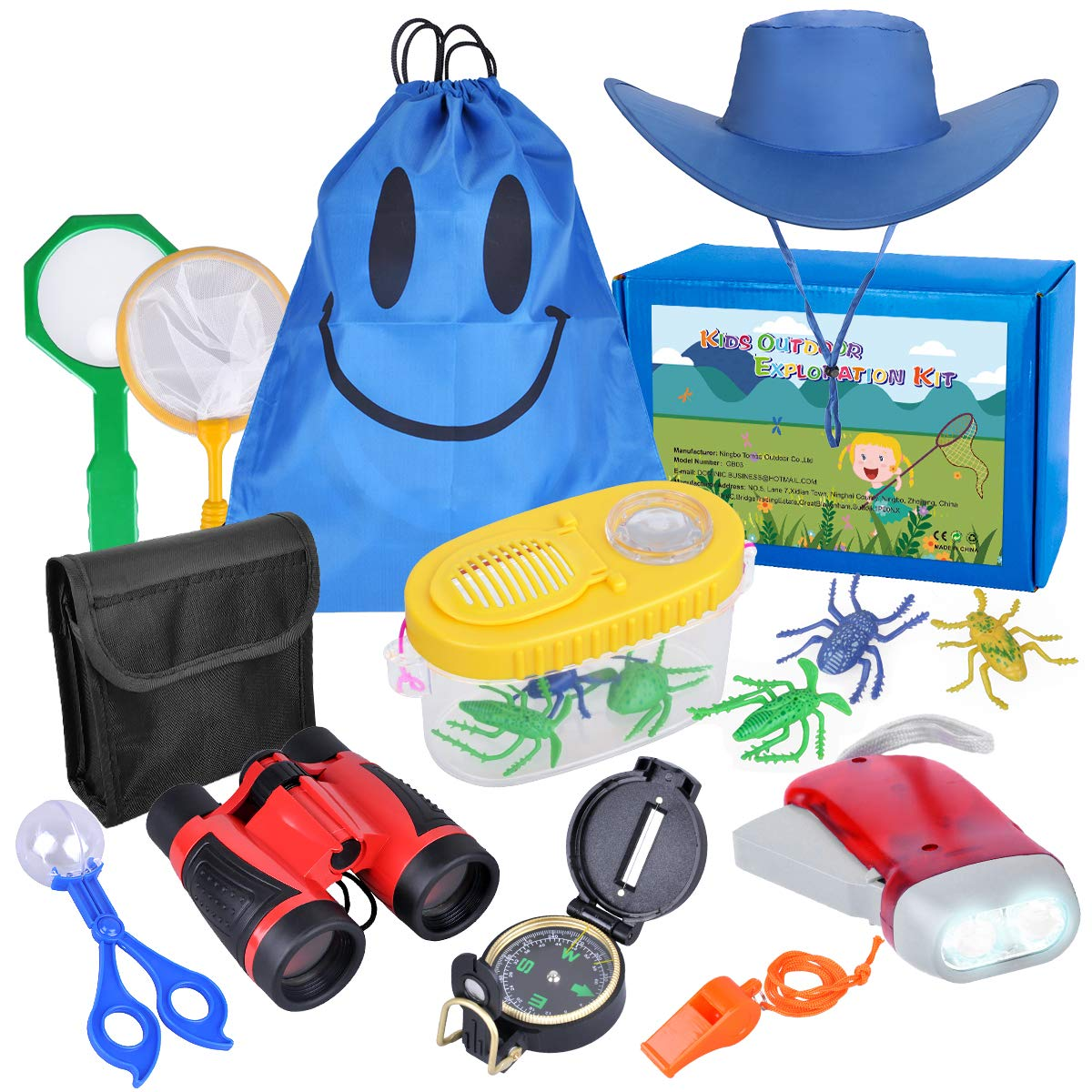 LOYO Outdoor Explorer Kit - Adventure Bug Catcher Kit for Kids Nature Exploration Gift Toys for 3, 4, 5, 6 -10 Year Old Boys Camping, Hiking by LOYO