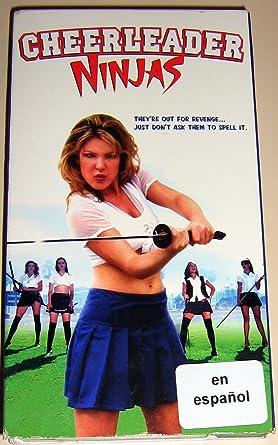 Amazon.com: Cheerleader Ninjas [VHS]: T. Scott Becker ...