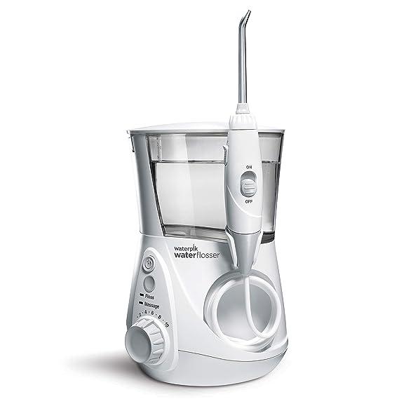 Amazon.com: Waterpik WP-660 - Irrigador dental eléctrico para dientes, acuario, color blanco: Beauty