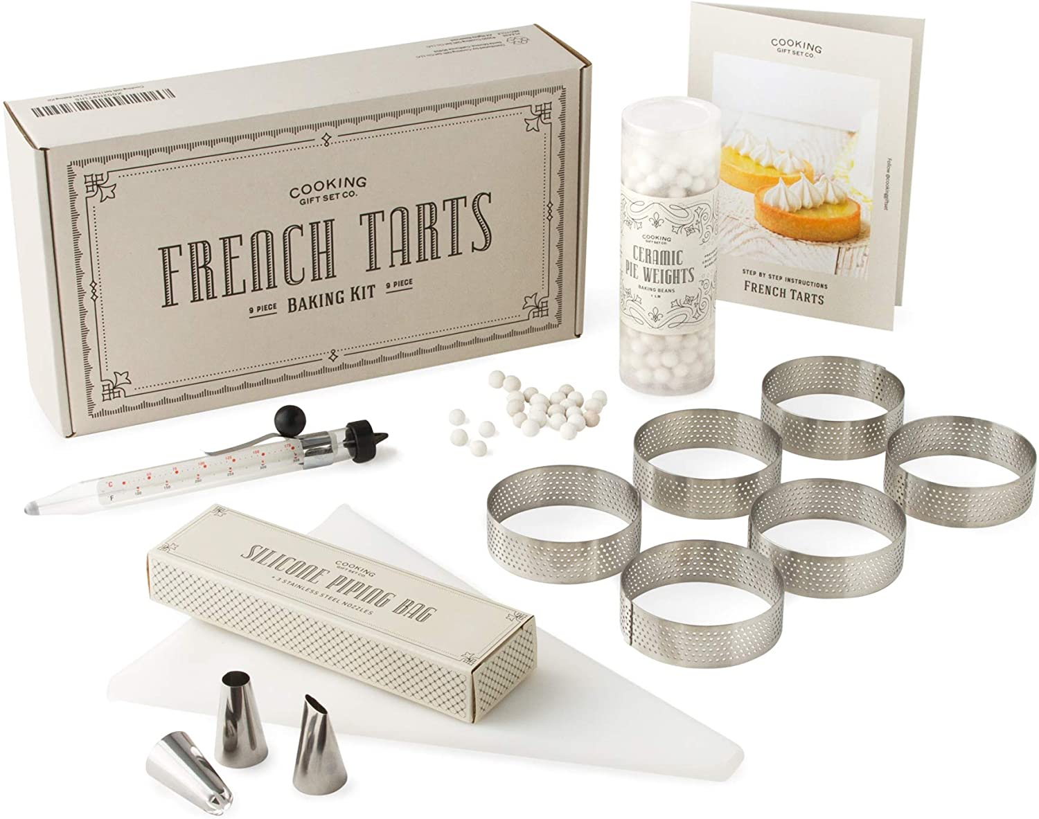 French tart baking kit.