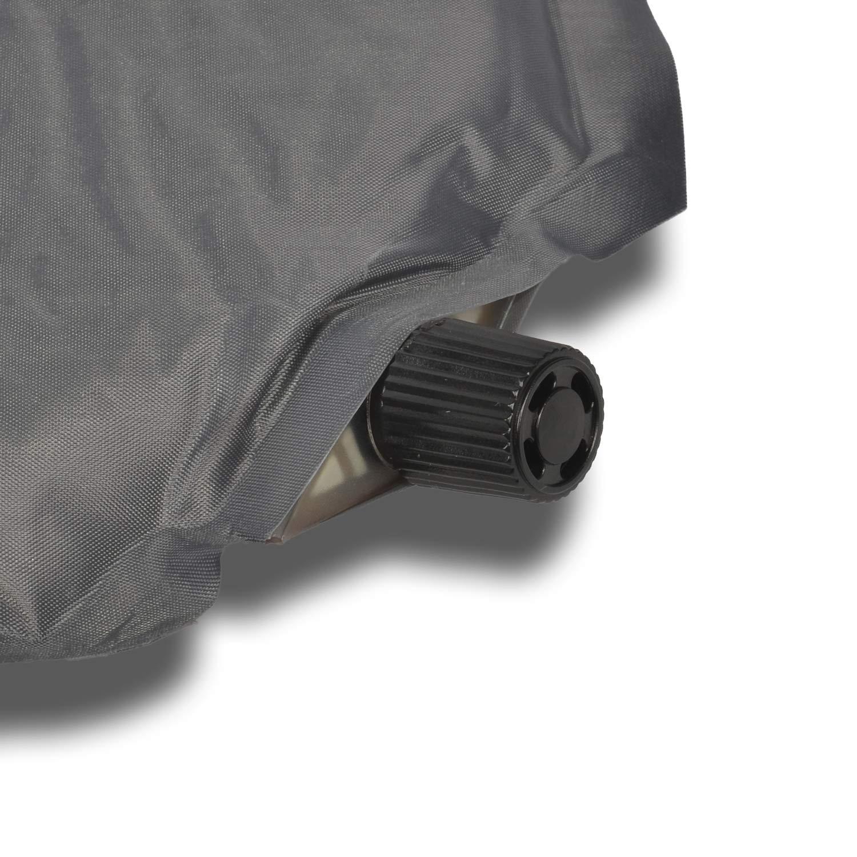 HSM Selbstaufblasende Isomatte grau 180x50cm Campingmatratze Luftmatratze Campingbett Luftmatte