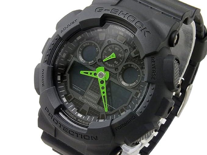 Reloj Casio G-shock GA-100 C-1 A3 Hombres del modelo de ultramar: Amazon.es: Relojes