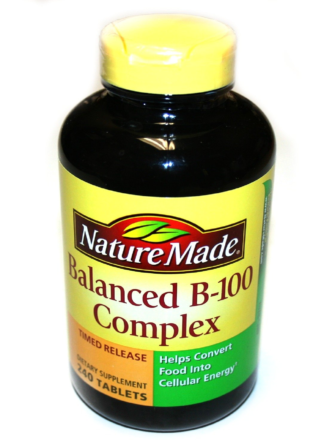 Nature Made Time-Release Balanced B-100, 240 Tablets