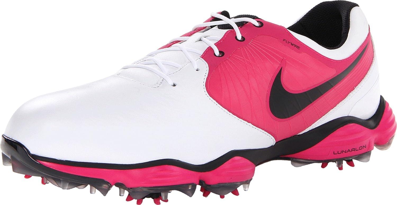 check out d19d6 3553c Amazon.com   NIKE Golf Men s NIKE Lunar Control II Golf Shoe, White Vivid  Pink  Black, 12 D(M) US   Golf