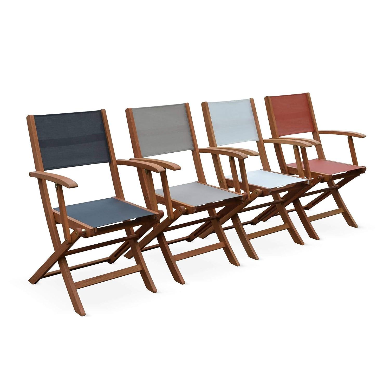 Alices Garden-sillas de jardín madera y textileno-Almería ...
