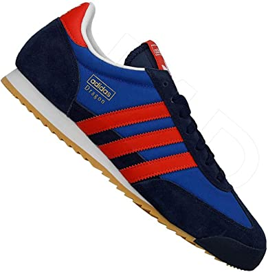 adidas dragon blue and red